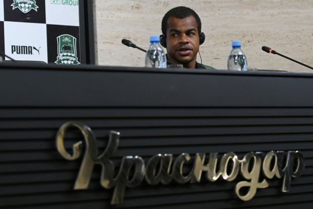 Пресс-конференция и тренировка «Краснодара» перед домашней игрой с «Люнгбю» . Официальный сайт ФК «Краснодар
