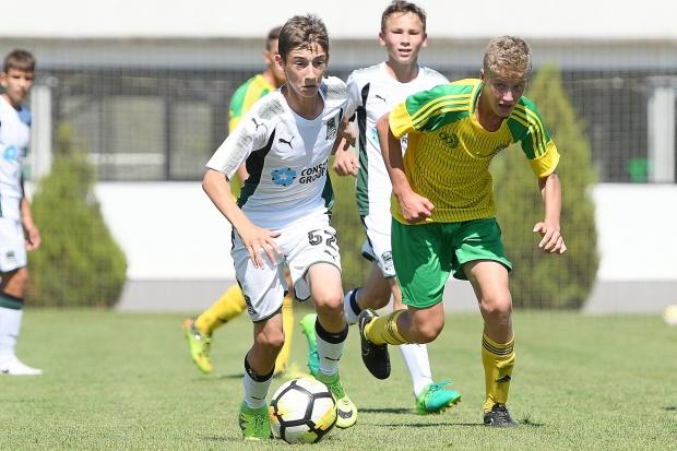В юношеском дерби удача оказалась на стороне «горожан». Официальный сайт ФК «Краснодар